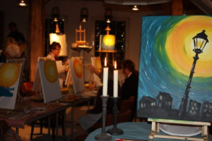 Nachtmahlen Essen und Kunst - Schausitzen Unternehmenskommunikation