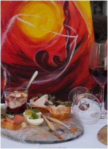Nachtmahlen Kunst und Essen - Schausitzen Unternehmenskommunikation